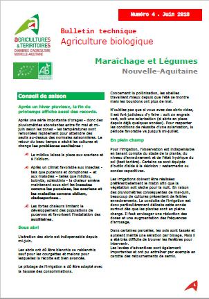 Bulletin technique ab mara chage et l gumes nouvelle - Chambre agriculture alpes maritimes ...