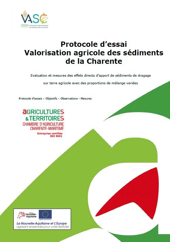 Vasc procole essais chambre d 39 agriculture charente - Chambre agriculture alpes maritimes ...